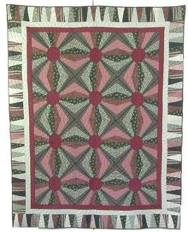 Jumping Jacks Quilt Pattern by Kaye Wood