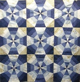 Kaleidoscope Quilt EPattern by Kaye Wood
