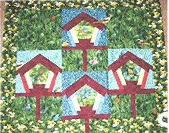 Life in the Meadow Wallhanging or Quilt Technique DVD by Kaye Wood