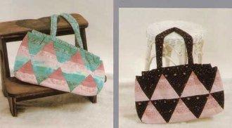 Patchwork Pyramids Pattern by Kaye Wood