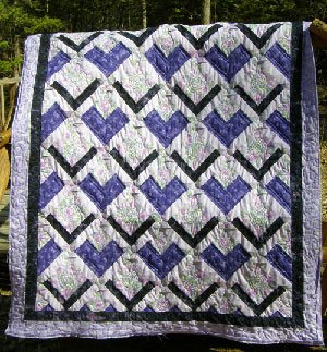 Pinwheel Square Wallhanging Pattern by Kaye Wood