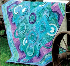 Pond Lilies Quilt EPattern by Kaye Wood