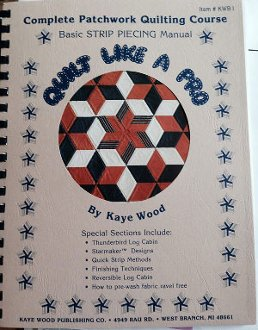 Quilt Like A Pro Book by Kaye Wood