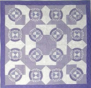 Roman Fountains Quilt EPattern by Kaye Wood