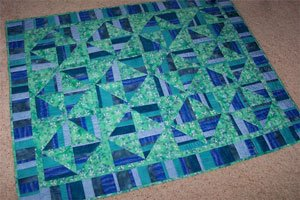 Scrap Happy Quilt Technique DVD 2211 by Kaye Wood