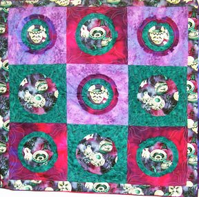Shades of the Southwest Quilt Pattern by Kaye Wood