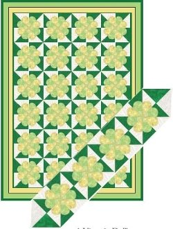 Shadow Hearts Quilt EPattern by Kaye Wood