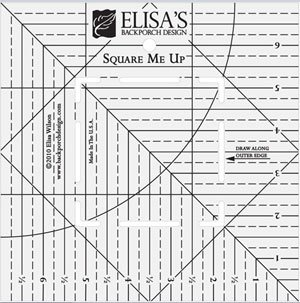 Square Me Up Ruler by Back Porch Designs