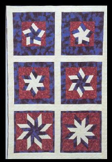 Star Spangled Quilt Technique DVD 1713 at Kaye Wood
