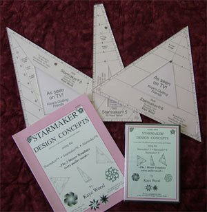 Cutting Stars From Strip Sets Technique 1807 DVD by Kaye Wood