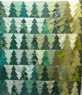 Trees With Ease Quilt Technique DVD 2204 by Kaye Wood