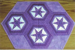 Tumbling Stars Centerpiece/Placemats EPattern by Kaye Wood