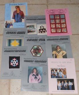 Twin Star Collection of Quilting Patterns and Books by Kaye Wood