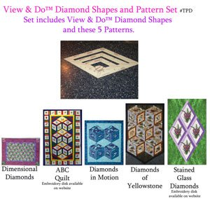 View & Do Diamond Shape and Pattern Set by Kaye Wood