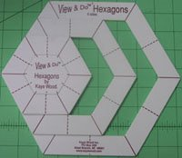 View & Do Hexagon Shapes in 4 Sizes by Kaye Wood