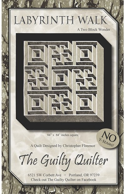 Labyrinth Walk Quilt Pattern by The Guilty Quilter