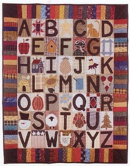 ABC Sampler Quilt Pattern by Little Country Quilts