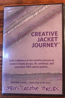 Creative Jacket Journey DVD by Londa's Creative Threads