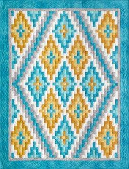 Pizzazz Quilt Pattern by Lockwood Enterprises