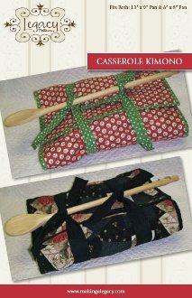 Casserole Kimono Pattern by Legacy Patterns