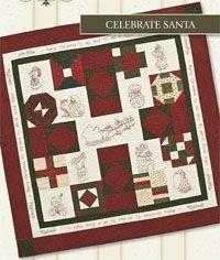Celebrate Santa Wallhanging Pattern by Legacy Patterns