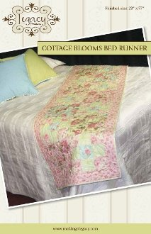 Cottage Blooms Bed Runner Pattern by Legacy Patterns