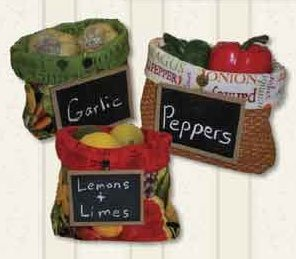 Pantry Bags Pattern in 3 Sizes by Legacy Patterns
