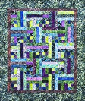 Road To Bali Quilt Pattern by Legacy Patterns