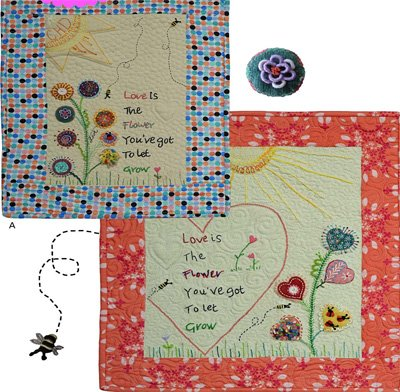 Let Love Grow Wool Embroidery Epattern by Charisma Horton