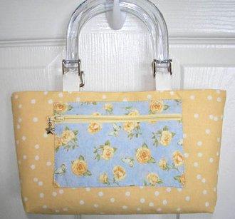 Chloe Handbag Pattern by Lazy Girl Designs