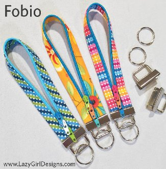 Fobio Lanyard Style Key Fob Pattern by Lazy Girl Designss