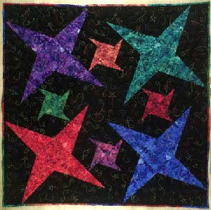 Galaxy Quilt Pattern by Lazy Girl Designs