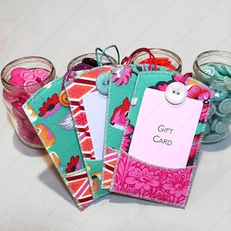 Gifty Card Holders Pattern by Lazy Girl Designss