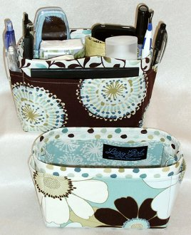 Suzi Purse Insert and Organizer in 2 Sizes by Lazy Girl Designs