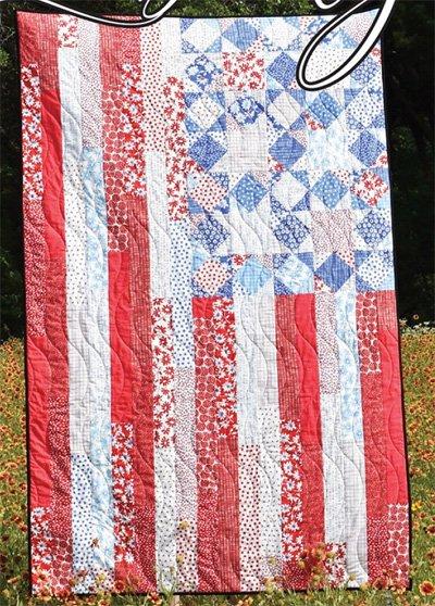 Liberty Quilt Pattern by Villa Rosa Designs