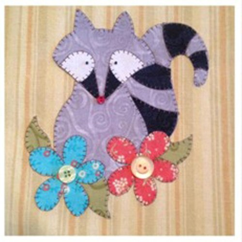 Lil' Rascal Applique Pattern by Quilt Doodle Designs