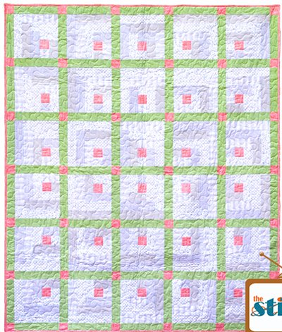 Little Pink Houses Quilt Pattern by Ett and Eddie