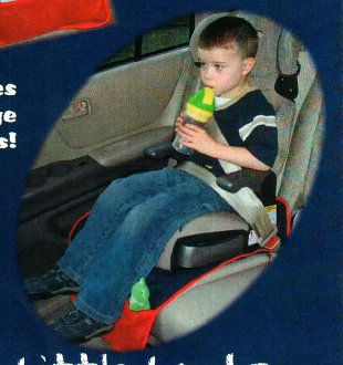 Crumb Catcher Car Seat Liner Pattern by Little Lambs