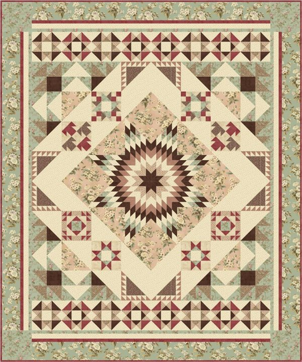 Lonestar Sampler Quilt Pattern by Gateway Quilts n Stuff