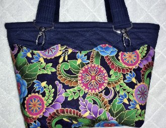 Amazing All-In-One Quilted Purse Pattern by Lynn Sellers