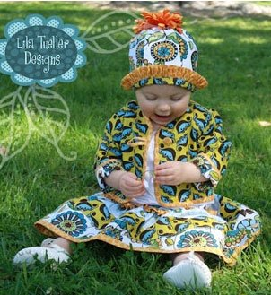 A Day In The Park Baby Outfit by Lila Tueller Designs