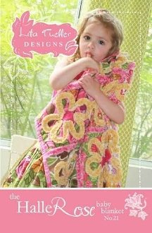 Halle Rose Baby Quilt Pattern by Lila Tueller Designs
