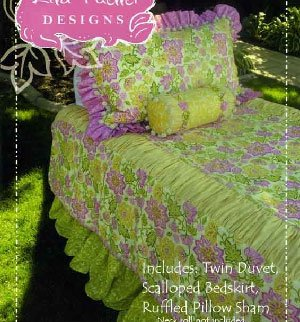 Natalie Bed Set Pattern by  Lila Tueller Designs