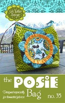 The Posie Bag Pattern by Lila Tueller Designs