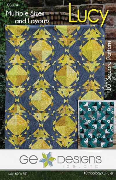 Lucy Quilt Pattern in 6 Sizes by GE Designs