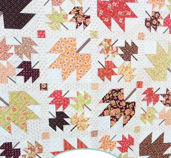 Maple Sky Quilt Pattern by Sherri Noel of A Quilting Life