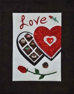 Love Button Quilt Pattern With Buttons by Mouse Blankets