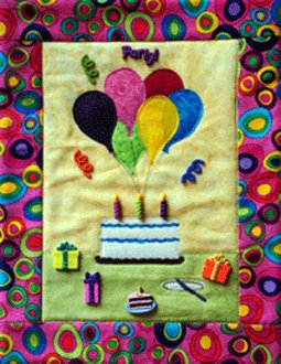Party! Button Quilt Pattern With Buttons by Mouse Blankets