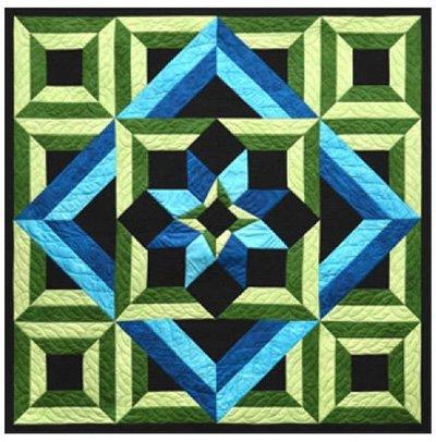 Meditation Quilt Pattern by Lockwood Enterprises