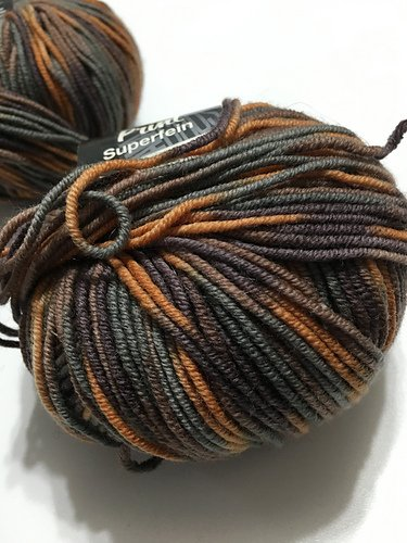 Cool Wool Merino 2000 by Lana Grossa Color 718 Sienna Mix